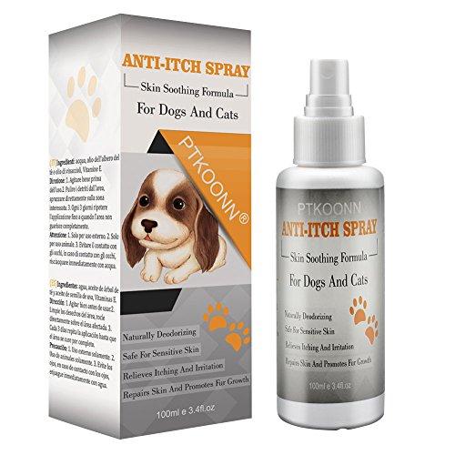 Hunde Juckreiz,Hunde Milben,Anti-Juckreiz Hund - pflegt und beruhigt die Haut bei Juckreiz - Fell und Haut Pflegespray für Hunde und Katzen