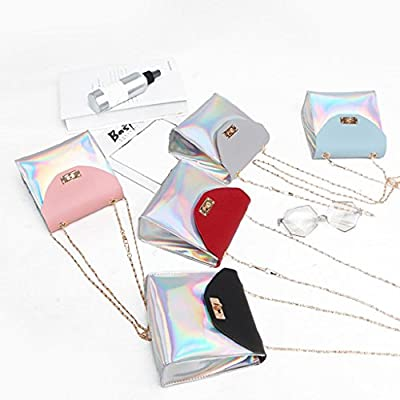 Womens Shoulder Bags, SHOBDW Women Fashion Chain Laser Party Crossbody Messenger Wallet Phone Coin Small Bag Birthday Gifts - bowling-handbags, fashion-bags