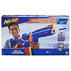 Idea Regalo - Nerf E1911EU4 N-Strike Elite Delta Trooper, 8+