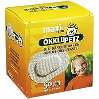 OKKLUPETZ Okklusionspflaster maxi natur 50 St Pflaster preisvergleich bei billige-tabletten.eu