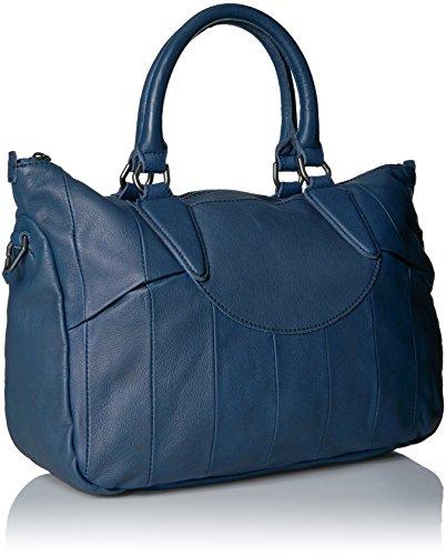 Liebeskind Esther Shopper Borsa tote pelle 40 cm Indigo Blue