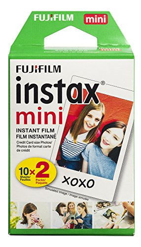 Fujifilm Instax Mini Instant Film Twin Pack - Weiß