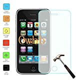 Owbb Tempered Glass Screen Protector Film For Iphone 3G / 3GS Smartphone Explosion-proof Film