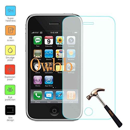hutzfolie für Iphone 3G / 3GS Smartphone Screen Panzerglas Hartglas Schutzfolie ()