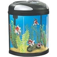Interpet Fish Pod Moon Glass Aquarium Fish Tank - 39 Litre