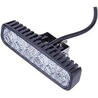Kaigeli® Arbeitslicht 18W LED Offroad Flutlicht Spotlight Reflektor Scheinwerfer Arbeitsscheinwerfer, 1600LM, IP67,12V 24V Flutlicht Weiß Per Set (2 Stück)