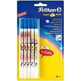 Pelikan Super Pirat B - Borrador de tinta (9 unidades + 1 gratis)