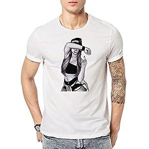 MAYUAN520 My_T-Shirt Sommer Mann T Shirt Kreativ Frauen T Jugend T Shirts