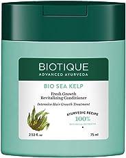 Biotique Sea Kelp- Fresh Growth Revitalizing Conditioner, Light Green, 75 ml