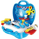 Kids Choice 18 Pieces Junior Doctor's Bring Along Medical Clinic Suitcase Set