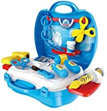#8: Kids Choice 18 Pieces Junior Doctor's Bring Along Medical Clinic Suitcase Set