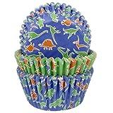75 Muffinförmchen * DINOSAURIER * für Kindergeburtstag // Kinder Geburtstag Party Dino T-Rex Dinos Saurier Muffin Backen