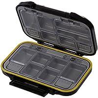 SODIAL(R) Caja para accesorios de pesca Caja para herramientas Caja para utensilios de pesca 12 compartimentos Resistente al agua