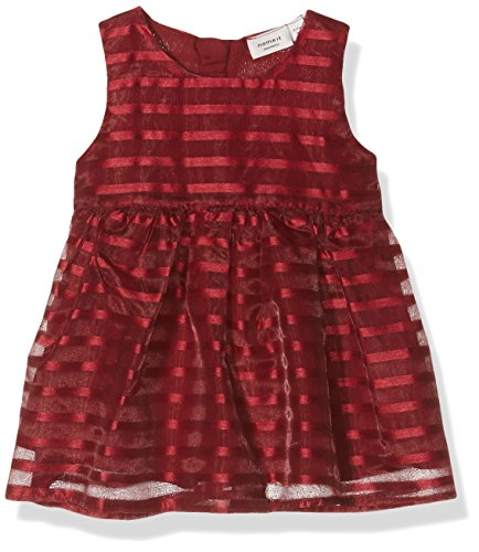 NAME IT Baby-Mädchen Kleid Nitchili Spencer WL Mznb Ger, Rot (Tibetan Red), 68