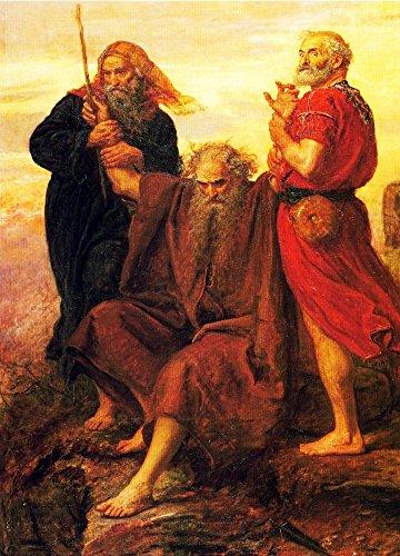 The Museum Outlet - Moses, pris en charge par Aaron et Hur, EST prière pour la victoire, 1871 - Canvas Print Online Buy (101,6 x 127 cm)