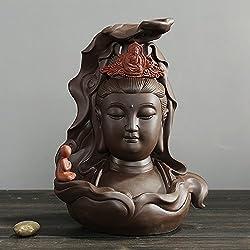 LONG Handwerk Dekoration Purple sand Räuchergefäß Keramik Sandelholz kreative Heimat buddhistische Tangerine Büro Tee Zeremonie
