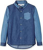 RED WAGON Jungen Jeanshemd, Blau (Blue), 134 (Herstellergröße: 9 Jahre)