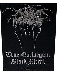 Darkthrone-true black metal norweigan rückenaufnäher     bP628 imprimé