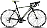 Montra Celtic 2.1 Road Bike, Adult Medium/Large (Matt Black/Green)