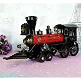 Decorative Metal Steam Locomotive Train Tender Car , C