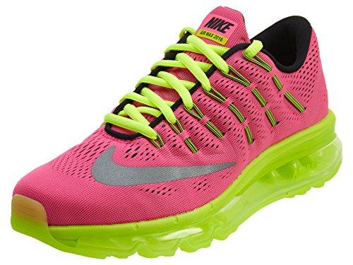 Nike Air Max 2016 (Gs), Scarpe da Corsa Donna Rosa (Hyper Pink / Reflect Silver-Volt-Black)