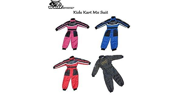 JNR15 WULFSPORT WULF CUB KIDS KART SUIT Motocross Quad MX MTB BMX Off Road Sports Racing Jump Suit