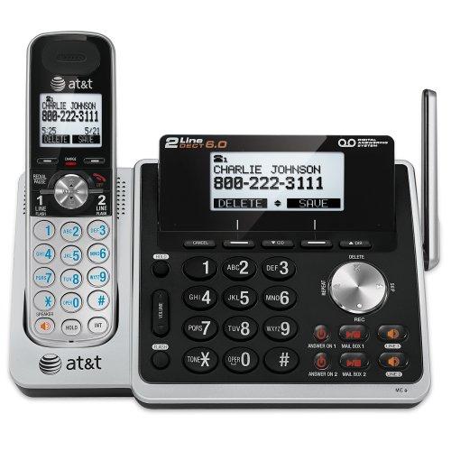 At&T TL88102 Cordless Landline Phone (Black)