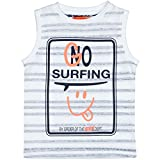 Staccato Jungen Tank Top Surfing - Icegreen Stripe (230063664)