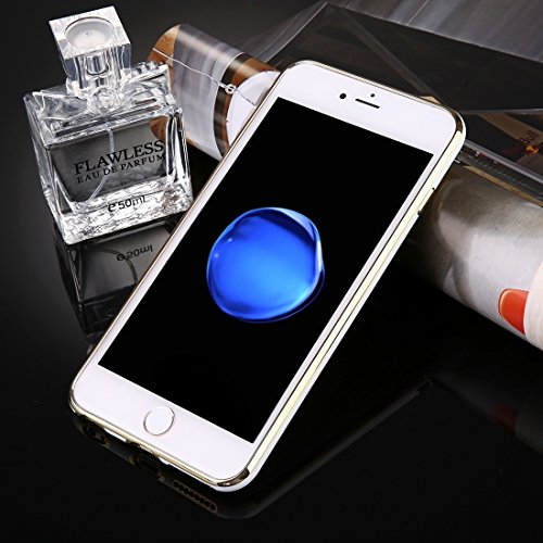 Phone case & Hülle Für iPhone 6 Plus / 6s Plus Galvanotechnik Soft TPU Schutzhülle ( Color : Dark blue ) White