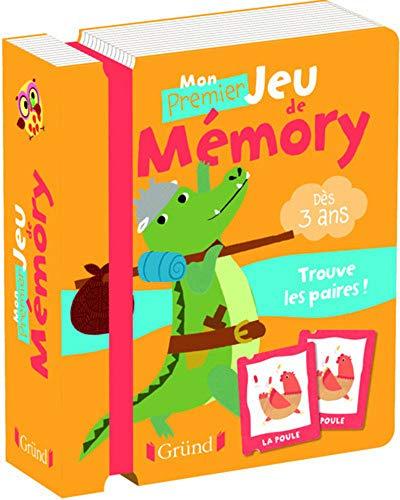 Mon premier memory des animaux rigolos