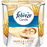 Febreze Vanille Latte Duftkerze 100g