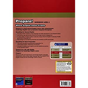 Cambridge English prepare! Level 5. Workbook. Con