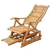 Feifei Lounger Regolabile Multifunzionale della Sedia di Svago della Sedia reclinabile della Sedia di Oscillazione del bambù