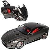 AUTOart Jaguar F-Type Coupe Matt Grau Ab 2013 73654 1/18 Modell Auto mit individiuellem Wunschkennzeichen