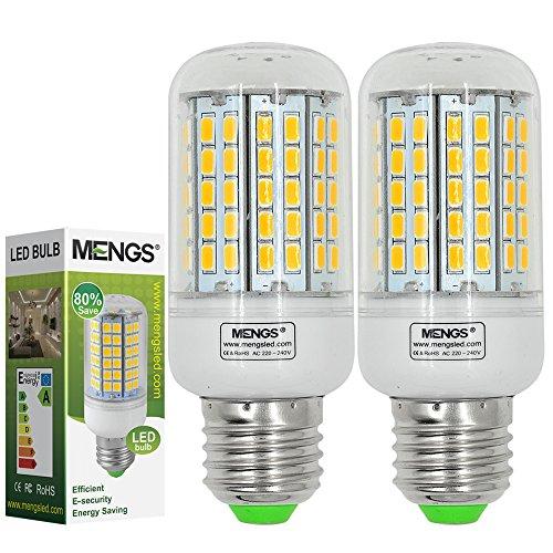 2X MENGS® E27 LED Lampe 6W 8W 12W 15W AC 220-240V Kaltweiß 6500K SMD