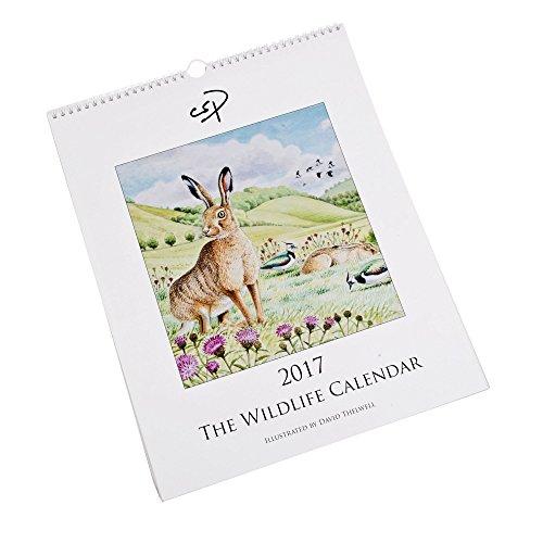 grande-calendario-da-parete-con-il-wildlife-calendario-2017-con-illustrazioni-di-david-thelwell