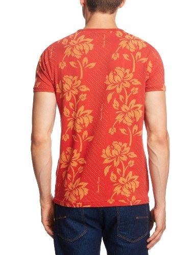 Jack and Jones Herren T-Shirts , Rundkragen Rot - Baked Apple