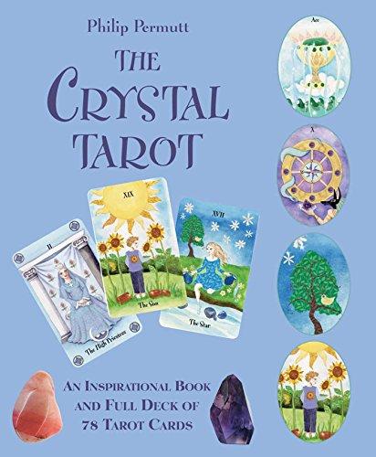 The Crystal Tarot: An Inspirational Book and Full Deck of 78 Tarot Cards Crystal Papier
