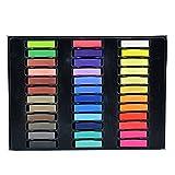 Pixnor 36 Farben DIY Malerei ungiftig temporäre Pastell Haar Farbe