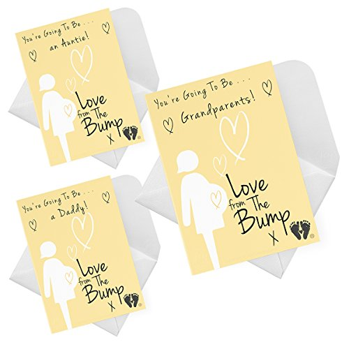 Love From The Bump ™ PREGNANCY ANNOUNCEMENT Card (You're Going To Be a) JC0004