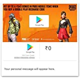 Upto Rs.540 Bonus in PUBG MOBILE Outfits||Google Play Gift Code - Digital Voucher