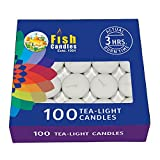 #4: Nanki Trades Wax Tea Light Candle (White, Set of 100)