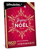 Wonderbox - Coffret cadeau Noel - JOYEUX NOEL Emotion – 8820 séjours, repas gourmands, soins détente