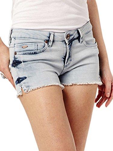O'Neill Damen Hose LW Island Shorts light washed denim