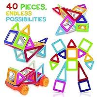 p> Costruisci l'Immaginazione e la Creatività di tuo Figlio Con I Blocchi Costruzione Magnetici di Tomi Toys! Dai ai tuoi figli ore di divertimento e piacere  MENTRE  li aiuti a migliorare le loro competenze matematiche e a sviluppare il loro cerv...
