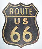 Affiche xXL motif route 66 uSA harley davidson garage 2002 décoration canne à pêche