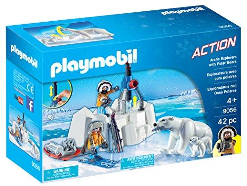 Playmobil- Exploradores con Osos Polares 9056