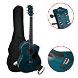 Tiger ACG4-BL Un Pack Guitare - Elektro-acoustique - Bleu