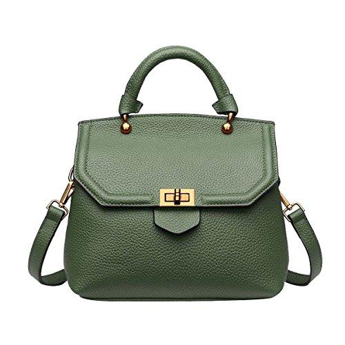 Mode Damenhandtaschen Damen Wasserdichte Umhängetasche Tragetaschen Green