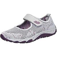 Zapatos planos de malla para mujer,Sonnena Mujeres de moda que vuelan los zapatos ligeros cómodos tejidos Zapatos Casuals Zapatos de malla